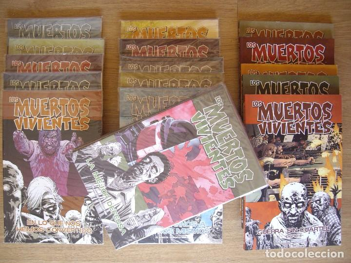 LOS MUERTOS VIVIENTES. THE WALKING DEAD. LOTE NUMEROS DEL 1 AL 18 (Tebeos y Comics - Planeta)