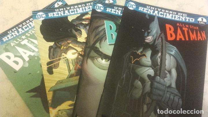 ALL STAR BATMAN - UNIVERSO DC RENACIMIENTO NºS 1 2 3 Y 4 - ECC EDICIONES - SNYDER ROMITA JR SHALVEY (Tebeos y Comics - Planeta)