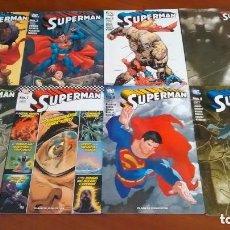 Cómics: SUPERMAN PLANETA 1,2,3,4,5,6,7,8,9,10 DESCATALOGADOS. Lote 95188471