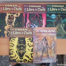 Cómics: CONAN EL LIBRO DE THOTH. Lote 95400267