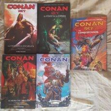 Cómics: CONAN REY. Lote 95401390