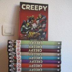 Cómics: CREEPY COLECCION COMPLETA 14 Nº PLANETA ¡¡¡¡NUEVA SIN LEER!!!!! VER FOTOS. Lote 95457335