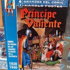 Cómics: PRINCIPE VALIENTE 2: BIBLIOTECA GRANDES DEL COMIC (PLANETA DEAGOSTINI) - HAROLD FOSTER. Lote 95516911