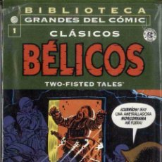 Cómics: BIBLIOTECA GRANDES DEL COMIC. CLASICOS BELICOS Nº 1. PLANETA DEAGOSTINI. Lote 95702407