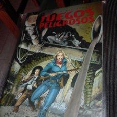 Cómics: JUEGOS PELIGROSOS-NUMERO UNICO-LABERINTO. Lote 95893600