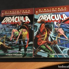 Cómics: DRACULA LOTE Nº 1 Y 2 BIBLIOTECAS GRANDES DEL COMIC (PLANETA) (COI36). Lote 95907139