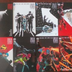 Cómics: BATMAN CABALLERO OSCURO III LA RAZA SUPERIOR MILLER AZZARELLO KUBERT ECC Nº 1 AL 8. Lote 95926647