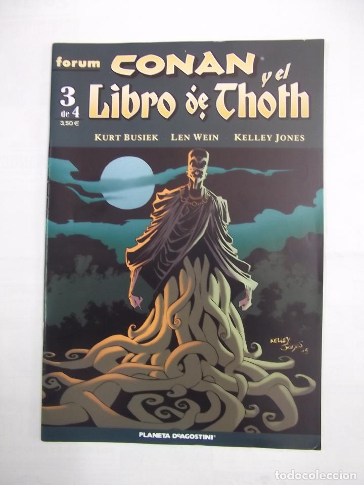 CONAN Y EL LIBRO DE THOTH Nº 3 DE 4. - EDITORIAL FORUM. PLANETA DEAGOSTINI. KURT BUSIEK. TDKC28 (Tebeos y Comics - Planeta)