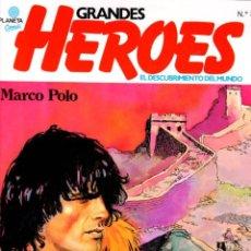 Cómics: GRANDES HEROES. EL DESCUBRIMIENTO DEL MUNDO. Nº 3. MARCO POLO. AÑO 1981. Lote 131995426