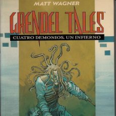 Cómics: GRENDEL TALES: CUATRO DEMONIOS UN INFIERNO (PLANETA DEAGOSTINI,1996) - MATT WAGNER - JAMES ROBINSON. Lote 97777347