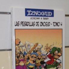 Cómics: IZNOGUD LAS PESADILLAS DE IZNOGUD TOMO 4 Nº 17 - GOSCINNY - TABARY - PLANETA - OFERTA . Lote 98346163