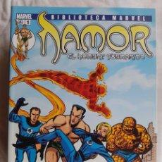 Cómics: BIBLIOTECA MARVEL EXCELSIOR - NAMOR Nº 1. Lote 99108579