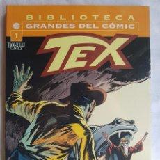 Cómics: BIBLIOTECA GRANDES DEL COMIC - TEX Nº 1. Lote 99108687