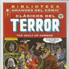 BIBLIOTECA GRANDES DEL COMIC: CLÁSICOS Del terror 7, 2004, Planeta DeAgostini, impecable