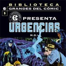 Cómics: BIBLIOTECA GRANDES DEL CÓMIC: EC PRESENTA Nº 05: URGENCIAS. Lote 99978563