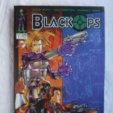 Cómics: IMAGE - BLACK OPS Nº 1,2,3,4,5. (COMPLETA). Lote 100085311