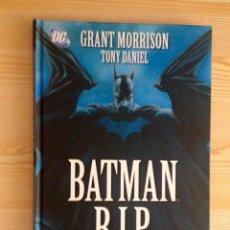 Cómics: BATMAN R.I.P. (PLANETA) GRANT MORRISON, TONY DANIEL (RIP). Lote 100384872