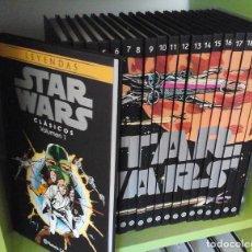 Star Wars, colección completa 20 tomos. Planeta, con la serie clásica de Marvel