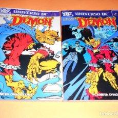 Cómics: DEMON. GARTH ENNIS. UNIVERSO DC 1 & 2. VOLUMENES EN MUY BUEN ESTADO.. Lote 102272107