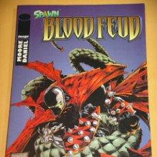 Cómics: SPAWN, BLOOD FEUD, DE ALAN MOORE, ED. PLANETA - IMAGE, ERCOM. Lote 102831167