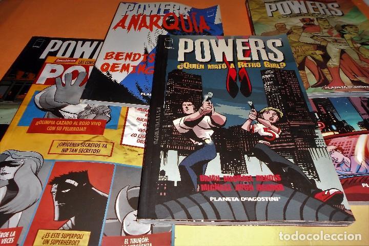 POWERS. BENDIS. LOS 6 PRIMEROS VOLÚMENES. NUMEROS DEL 1 AL 30. (Tebeos y Comics - Planeta)