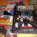 Cómics: POWERS. BENDIS. LOS 6 PRIMEROS VOLÚMENES. NUMEROS DEL 1 AL 30. ESTADO NORMAL. Lote 104187383
