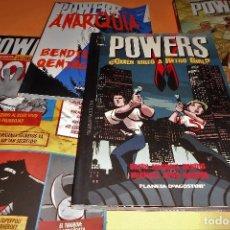 Cómics: POWERS. BENDIS. LOS 6 PRIMEROS VOLÚMENES. NUMEROS DEL 1 AL 30.. Lote 171594568