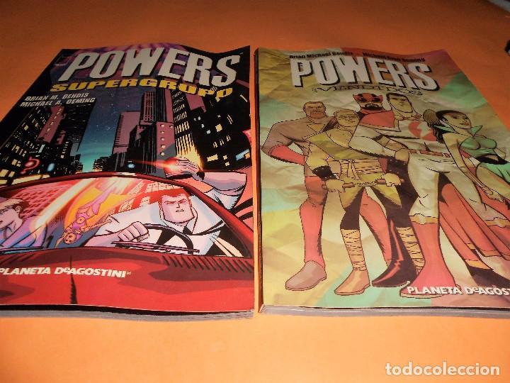 Cómics: POWERS. BENDIS. LOS 6 PRIMEROS VOLÚMENES. NUMEROS DEL 1 AL 30. - Foto 3 - 171594568