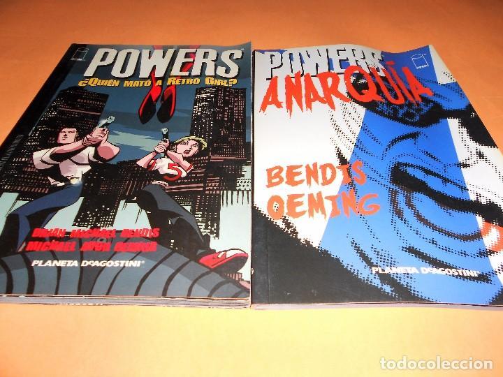 Cómics: POWERS. BENDIS. LOS 6 PRIMEROS VOLÚMENES. NUMEROS DEL 1 AL 30. - Foto 4 - 171594568