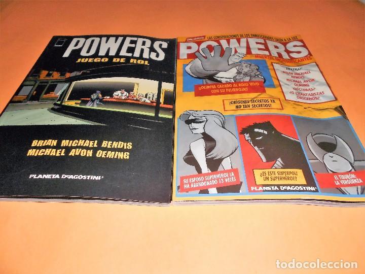 Cómics: POWERS. BENDIS. LOS 6 PRIMEROS VOLÚMENES. NUMEROS DEL 1 AL 30. - Foto 5 - 171594568