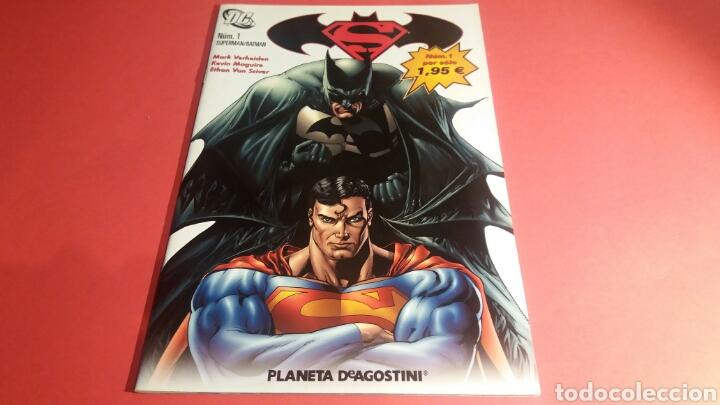 SUPERMAN BATMAN 1 EXCELENTE ESTADO DC PLANETA (Tebeos y Comics - Planeta)