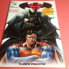 Cómics: SUPERMAN BATMAN 1 EXCELENTE ESTADO DC PLANETA. Lote 104277536
