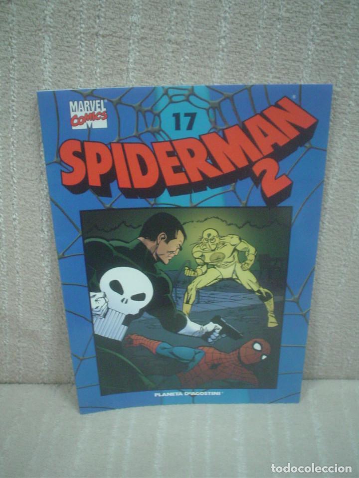 SPIDERMAN 2 - COLECCIONABLE AZUL Nº 17 (Tebeos y Comics - Planeta)