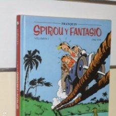 Cómics: SPIROU Y FANTASIO VOLUMEN 1 (1946 - 1949) FRANQUIN - PLANETA -. Lote 104308467