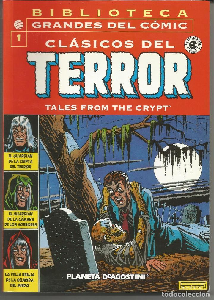 CLÁSICOS DEL TERROR BIBLIOTECA GRANDES DEL COMIC COMPLETA 15 Nº (Tebeos y Comics - Planeta)