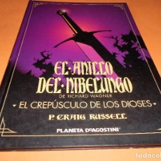 Cómics: EL ANILLO DEL NIBELUNGO. Nº 4 P, GRAIG RUSSELL. TAPA DURA. BUEN ESTADO.. Lote 104589971