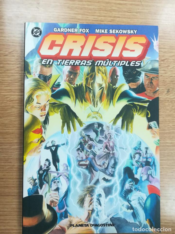 CRISIS EN TIERRAS MULTIPLES #1 (Tebeos y Comics - Planeta)