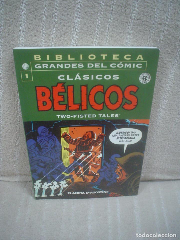 CLÁSICOS BÉLICOS Nº 1 - BIBLIOTECA GRANDES DEL CÓMIC (Tebeos y Comics - Planeta)