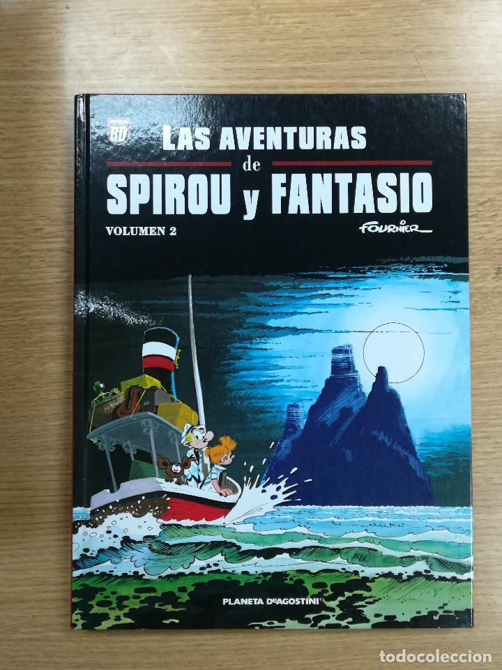 LAS AVENTURAS DE SPIROU Y FANTASIO DE FOURNIER #2 (Tebeos y Comics - Planeta)