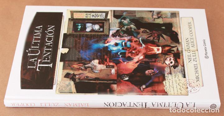 Cómics: LA ÚLTIMA TENTACIÓN - Neil Gaiman - Ed Planeta 2017 - NUEVO - Foto 2 - 107082907