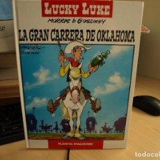 Cómics: LUCKY LUKE - LA GRAN CARRERA DE OKLAHOMA - TAPA DURA - AÑO 2005 - PLANETA DEAGOSTINI - NÚMERO 6. Lote 107346439