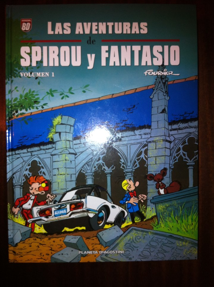 LAS AVENTURAS DE SPIROU Y FANTASIO DE FOURNIER INTEGRAL VOLUMEN 1 2 Y 3 - PLANETA DESCATALOGADO (Tebeos y Comics - Planeta)