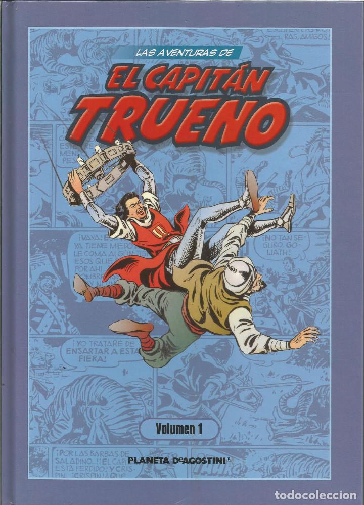 LAS AVENTURAS DE EL CAPITAN TRUENO PLANETA DEAGOSTINI Nº 1 (Tebeos y Comics - Planeta)