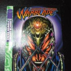 Cómics: WARBLADE - ESPECIES EN PELIGRO. Lote 109185811