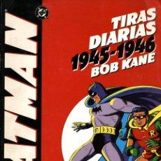 Cómics: BATMAN, DE BOB KANE. TIRAS DIARIAS 1945-1946 (PLANETA-WORLD COMICS, 1995). Lote 109402827