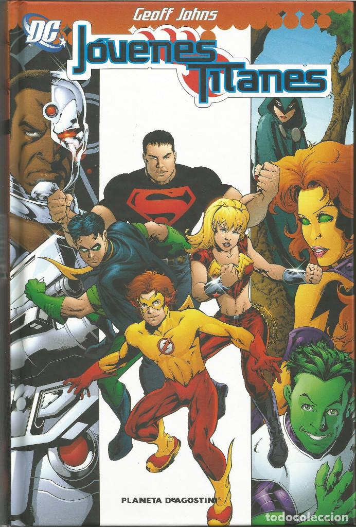 JÓVENES TITANES DE GEOFF JOHNS Nº 1 PLANETA DEAGOSTINI (Tebeos y Comics - Planeta)