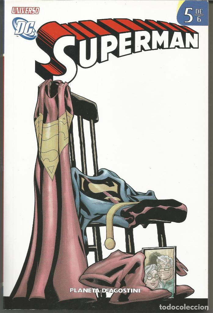 UNIVERSO DC SUPERMAN 5 (DE 6) DE JEPH LOEB DC COMICS PLANETA DEAGOSTINI (Tebeos y Comics - Planeta)