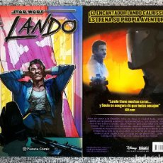Cómics: STAR WARS LANDO - TOMO INTEGRAL, 128 PÁGS.- PLANETA - SNZBCN. Lote 111541703