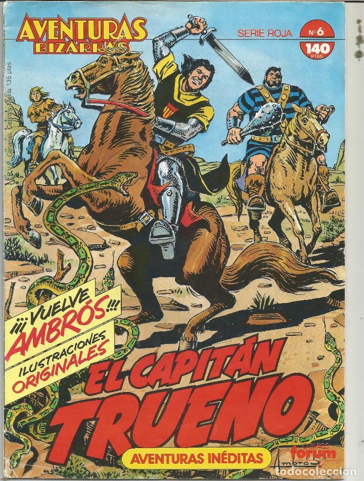 EL CAPITAN TRUENO.AVENTURAS BIZARRAS Nº 6 PLANETA DEAGOSTINI (Tebeos y Comics - Planeta)