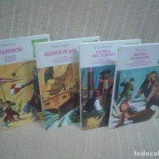 Cómics: JOYAS LITERARIAS JUVENILES TOMOS 1 AL 4 - PLANETA DEAGOSTINI. Lote 111675675